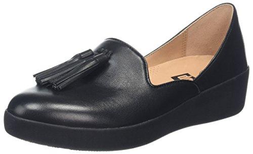 FitFlop Tassel Superskate D'Orsay Loafers, Mocassins Femme, Rose (Dusky Pink 535), 39 EU