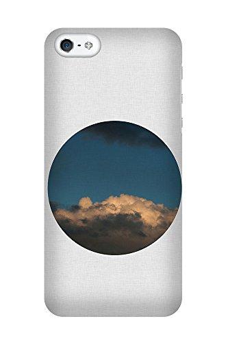 iPhone 4/4S Coque photo - Nuage Cercle II