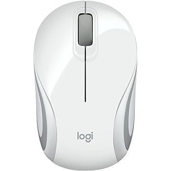 fcf213e5e68 Logitech M187 Wireless Mini Mouse for Windows, Mac and Linux - White