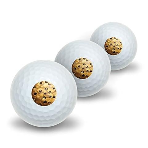 Chocolate Chip Cookie fantaisie de balles de golf Lot de 3