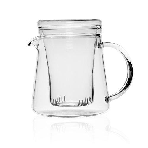 Théière en verre - 2 personnes - 0.4L Borosilicate glass teapot