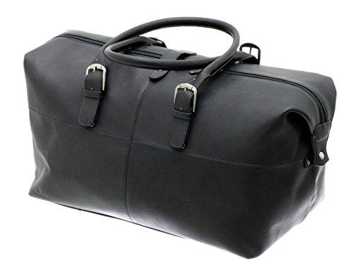 Davidts Leyden Echt Leder Reisetasche Business Bag Schwarz 450 500 Bowatex (Tasche Top-grain-leder)