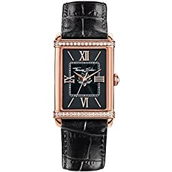 "Thomas Sabo Watches, Women Women's Watch ""CENTURY"", Stainless steel; Leather,"