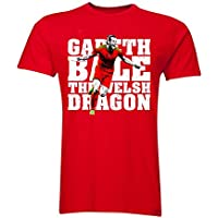 Gareth Bale The Welsh Dragon T-Shirt (Red) - Kids