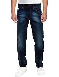 Raa Jeans Men's Slim Fit Jeans Raa027 Denim Blue