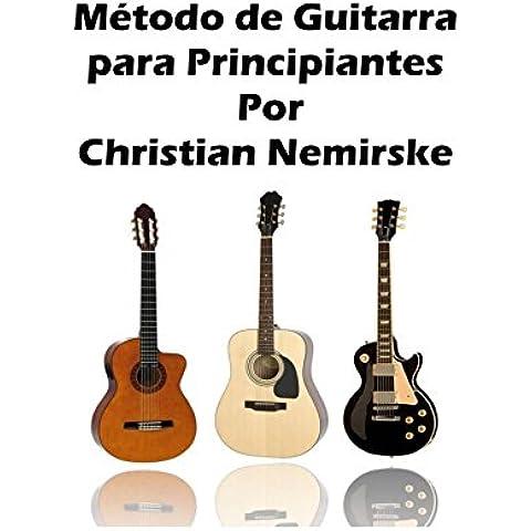 Método de guitarra para principiantes
