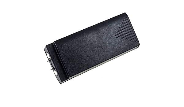 Powery Batterie pour t/él/écommande de Grue Hiab XS Drive H3786692 7,2V Batterie pour t/él/écommande par Radio pour Grue NiMH