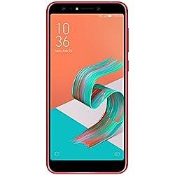Asus Zenfone 5 Lite ZC600KL Smartphone 4G débloqué (Ecran : 6 pouces - 64Go - Double Nano SIM - Android 7.1) Rouge