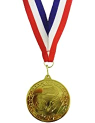 Unique Doré Médaille de football