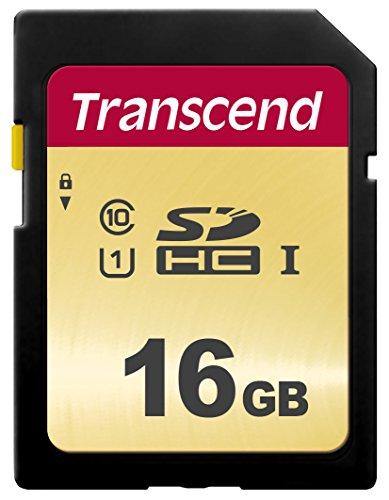 Transcend 16GB SDXC/SDHC 500S Speicherkarte TS16GSDC500S