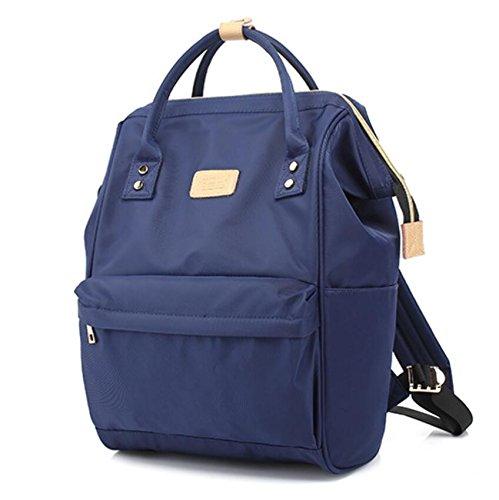 Z&N Multifunktionale kreative Umhängetasche tragbar Dual-Use Mode Casual Bag Schulrucksack Outdoor Radfahren Laufen Wandern Bergsteigen und Tourismus blue