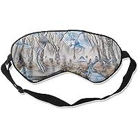 Sleep Eye Mask Surrealism Snow Lightweight Soft Blindfold Adjustable Head Strap Eyeshade Travel Eyepatch preisvergleich bei billige-tabletten.eu
