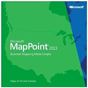 Microsoft MapPoint 2013 North America  [Download]