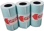TEEPAO - Self-Adhesive Thermal Paper Rolls 57 X 30mm - Sticker Thermal Paper For Paperang Mini Photo Printer -