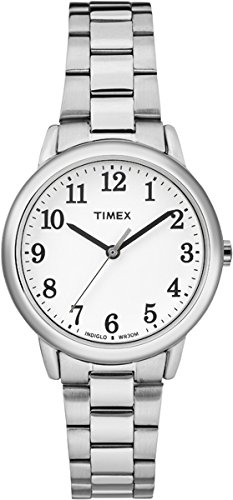 Timex Womens Easy Reader White Dial with a Stainless Steel Bracelet Watch TW2R23700 Best Price and Cheapest