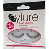Eylure Naturalites Reusable Lashes (Adhesive Included) Ultra Light Weight .03 oz (100) by Indonesia