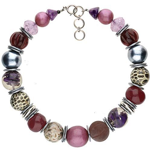 langani Halskette Mathis Damen-Kette schwarzen Perle Handmade Since 1952 4