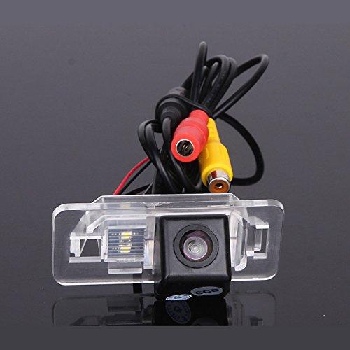 dasaita Auto Rückfahrkamera Kabel für Einparkhilfe Wasserdicht Nachtsicht CCD Kamera Auto Camera für BMW E82 E46 E90 E91 E39 E53 X 1 X3 X 5 X6