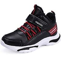 innovative design 735b0 005b5 Scarpe Sportive da Corsa per Bambini con Velcro Scarpe da Ginnastica Alte da  Basket per Bambini
