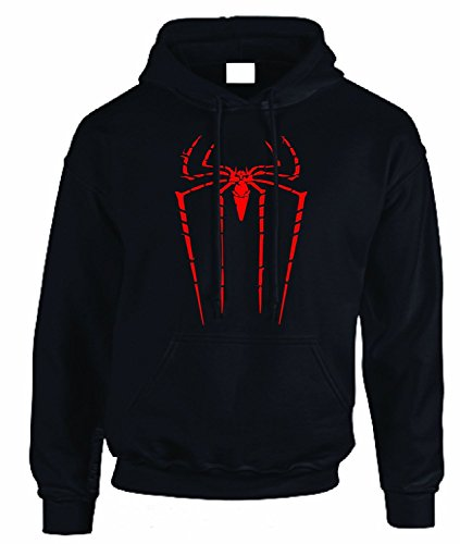 The Amazing Spiderman Kinder Kapuzenpullover Marvel Comics Jungen Mädchen Gr. Medium, ()