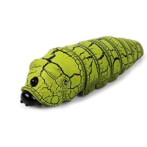 Dxlta Kinder Lustiges Spielzeug Gefälschte Caterpillar Fernbedienung elektrisch Streich Tier RC Insekten Witz Kinder Trick Spielzeug Geschenk