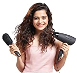 Lifelong LLPCW08 1600W Foldable Hair Dryer with Cool Air (Black)