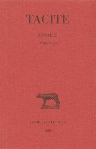 Annales, tome 2 : Livres IV-VI