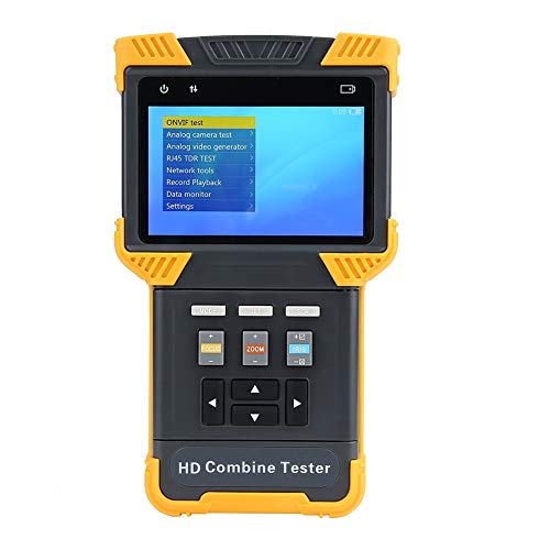 "Akozon CCTV Tester AV100-240V DT-T70 Multifunktions Tester 1080P IP analoge Kamera Testing HD Kombinieren Tester 4.0\""LCD CVBS Netzwerktester Video/PTZ Tester/Überwachungskamera/Kabel Tester PTZ Contro"