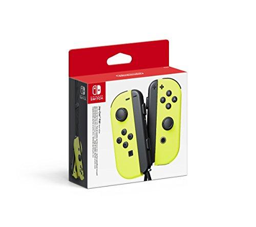 Nintendo - Set De Dos Mandos Joy-Con Izquierda Y Derecha, Color Amaril