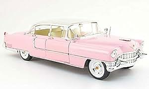 MRC - 79201 - Véhicule Miniature - Cadillac Cabrio 1955 - Elvis Presley - Echelle 1/18