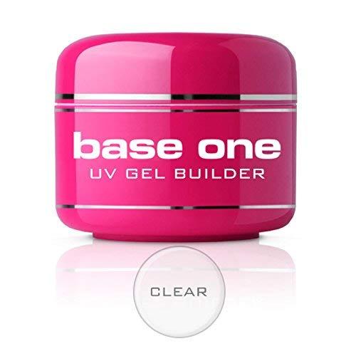 Silcare BaseOne Clear Klar 50g UV-Gel Builder säurefrei Nägel -