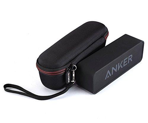 LTGEM EVA Hart Fall Reise Tragen Tasche für Anker SoundCore Mobiler Bluetooth 4.0 Lautsprecher.mit Mesh-Tasche für Kabel.