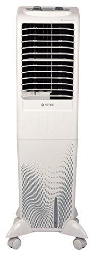VITEK VT-3064 W-I 36-Litre Tower Air Cooler Without Remote for Medium Room (White)