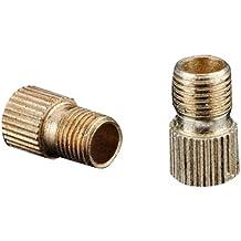FamilyMall - Adaptadores de válvula de neumático de bicicleta (de Presta a Schrader, 2 unidades)