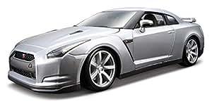 Bburago - 12079r - Véhicule Miniature - Modèle À L'échelle - Nissan Gt-r R35 - Echelle 1/18 Modèle aléatoire