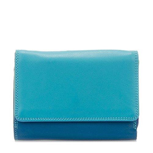 Mywalit 11cm In Pelle Di Qualità Media Dimensione Tri Fold Wallet Borsa 221 Regalo Di Paesaggio Marino Confezionato