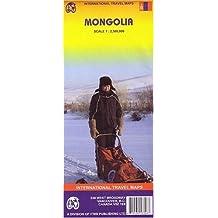 Carte routière : Mongolie