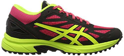 Asics - T586n, Sneaker Donna Rosso/Nero