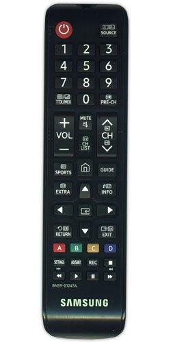 Samsung Ersatz-Fernbedienung für TV BN59-01247A, Schwarz (Control Samsung Remote)