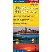 Reisekarte : Ungarn / Plattensee