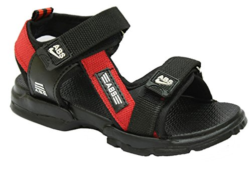 AbsMen's Red Synthetic Sandals - 9  available at amazon for Rs.319