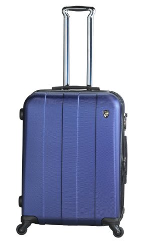 ... 50% SALE ... PREMIUM DESIGNER Hartschalen Koffer - Heys Crown Elite V Rot - Trolley mit 4 Rollen Medium Blau