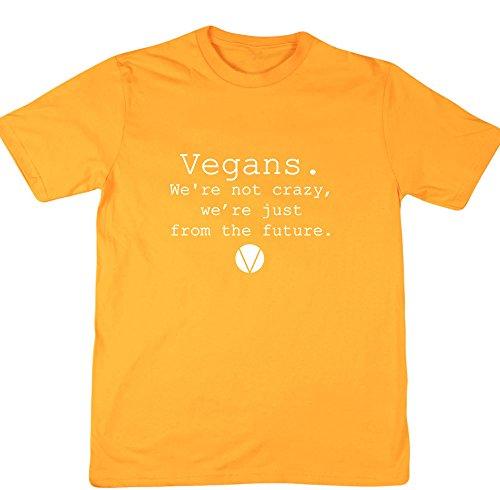 Hippowarehouse Herren T-Shirt Gr. XXL, Gelb - Gold (Hugger Gelben Tree T-shirt)