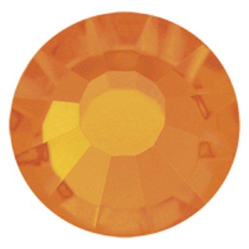 Sun Hotfix 1440 Preciosa Tschechische Kristalle 20ss Viva12 zum Aufbügeln, SS20, 5 mm