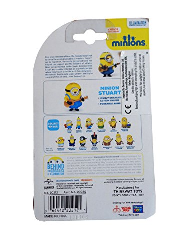 Despicable Me Minions Movie Minion Stuart 2 with Guitar (20212) by Thinkway 2