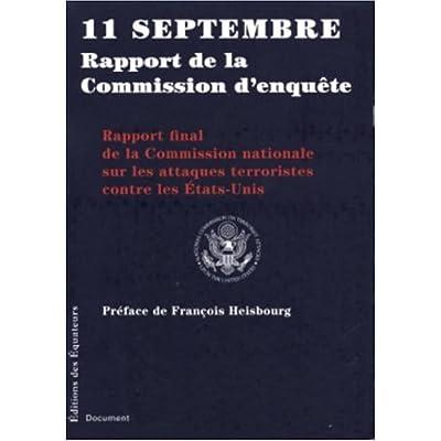 11 SEPT RAPPORT COMMISSION ENQ