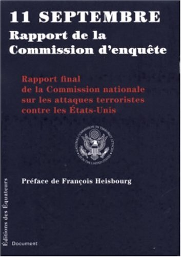 11 SEPT RAPPORT COMMISSION ENQ par Collectif