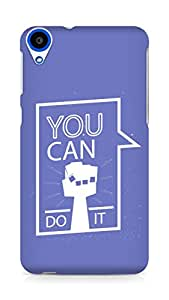 Amez You can Do It! Back Cover For HTC Desire 820
