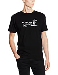 Shirtzshop T-shirt Ein Leben ohne Bogenschießen ist möglich - aber sinnlos