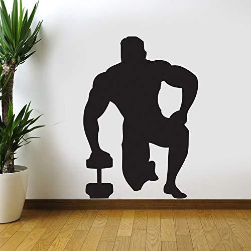 Zaosan Autogymnastik Aufkleber Hantel Fitness Applique Fitness